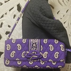 Vera Bradley Knot Just a Clutch Simply Violet